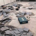 Põrandaplaatide eemaldus